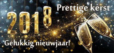 Kerstmis Nieuwjaar 2017 2018 Alfagen